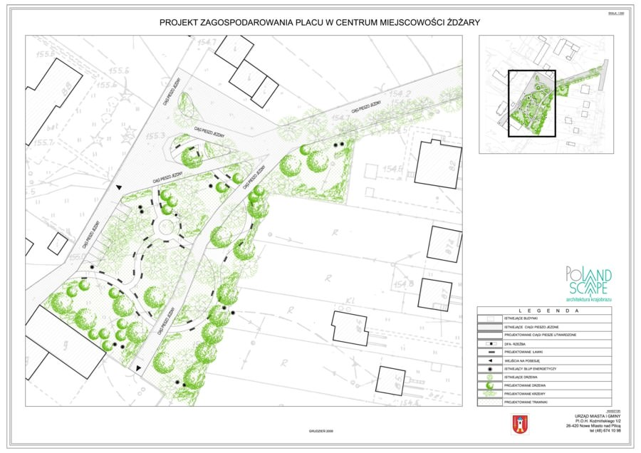 Projekt zagospodarowania placu miejskiego