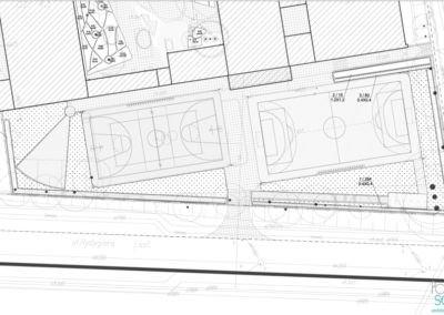 Projekt zagospodarowania terenu dla zespołu szkół nr 31 przy ul. Felińskiego