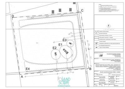 Projekt budowlany placu zabaw  na terenie Muzeum w Nieborowie i Arkadii