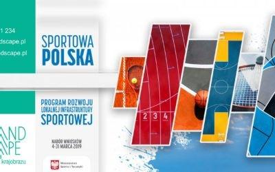 SPORTOWA POLSKA  Program rozwoju lokalnej infrastruktury sportowej EDYCJA 2019.