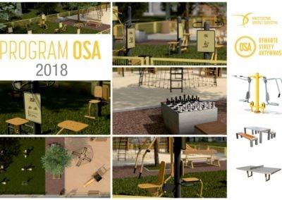 PROGRAM OSA- Otwarte Strefy Aktywności 2018