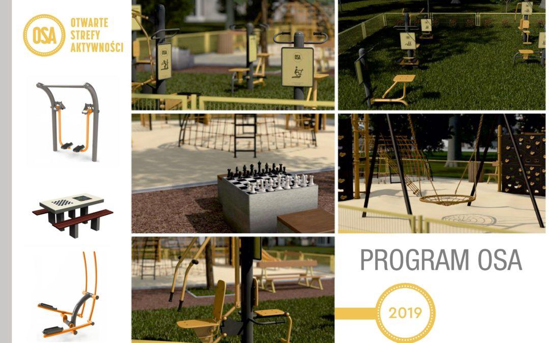 PROGRAM OSA- Otwarte Strefy Aktywności 2019